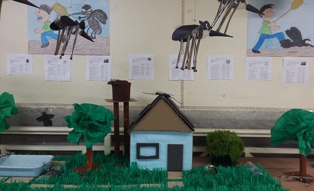 Mostra de Trabalhos sobre a Dengue
