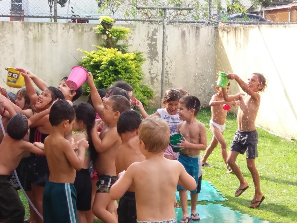 Banho de mangueira Pré 2