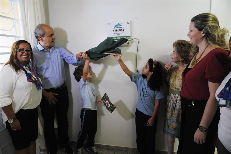 Inauguração da Biblioteca Escolar Chloris Casagrande Justen