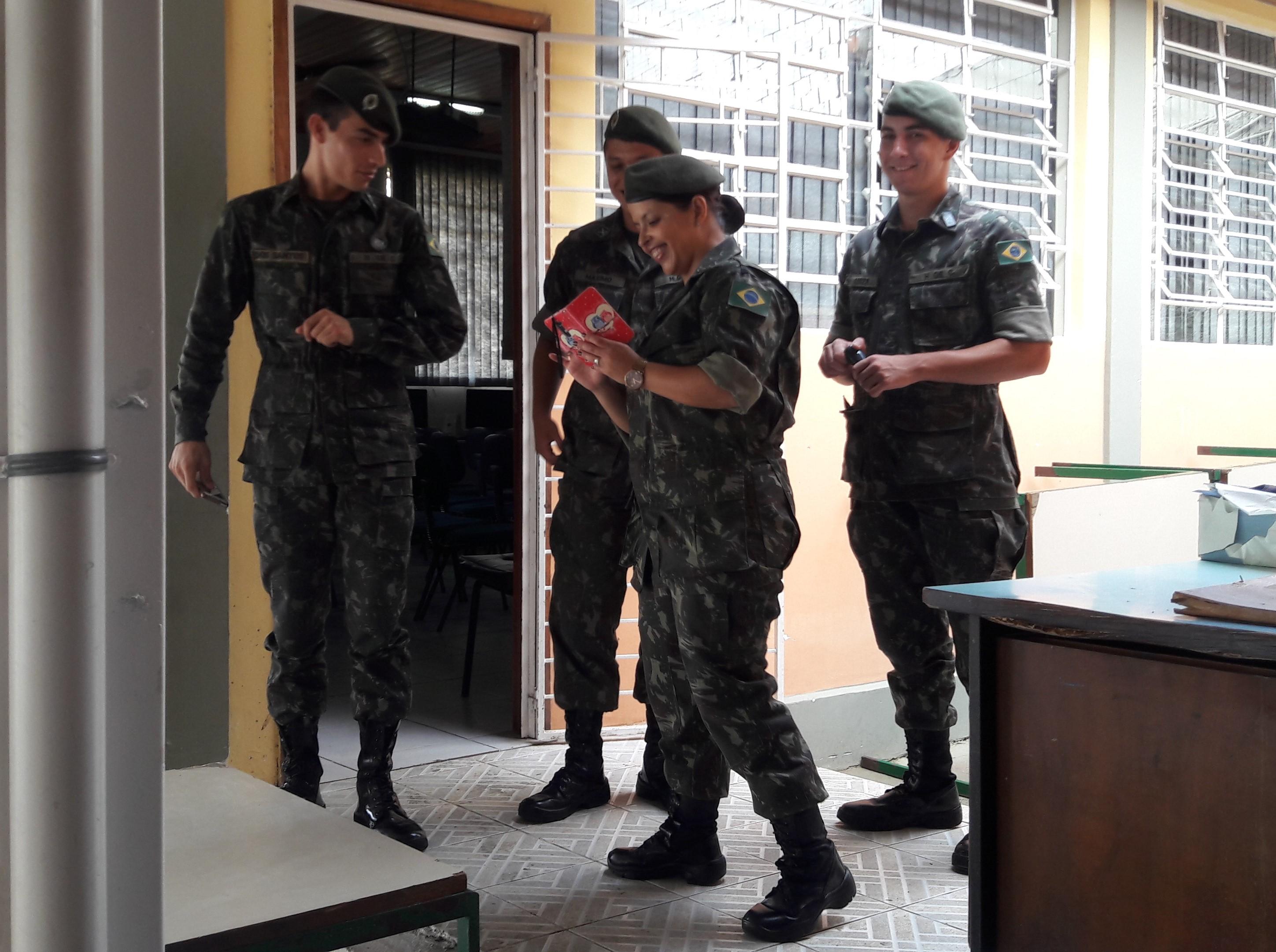 Equipe do Exército