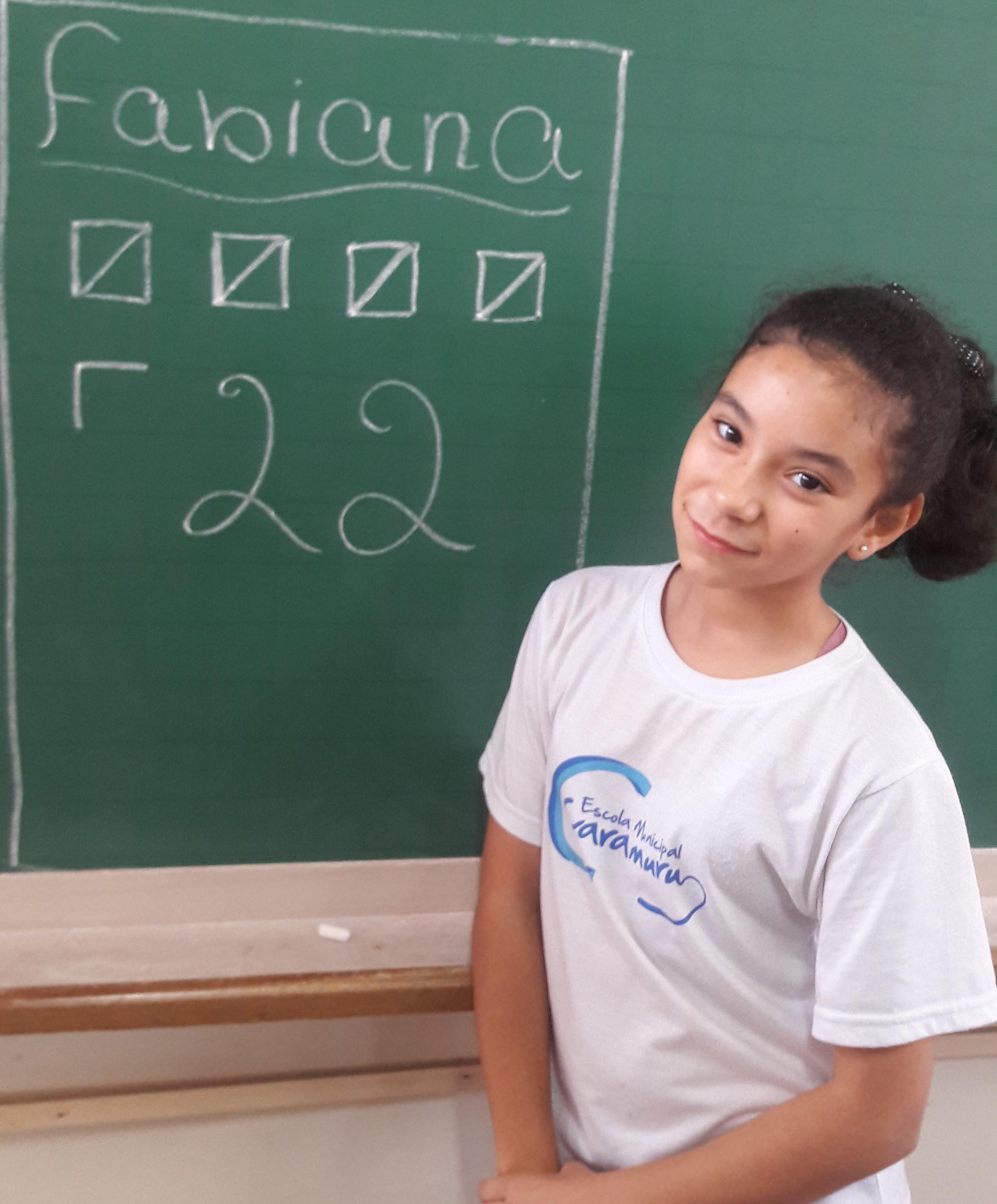 Fabiana recebeu 22 votos