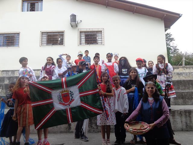 Apresentação teatral em comemoração ao Aniversário de Curitiba
