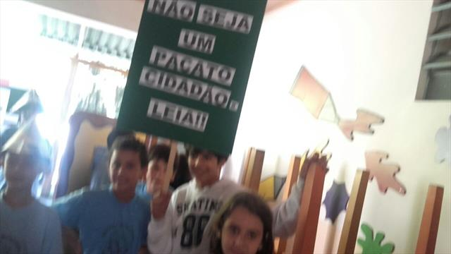 Flash Mob na escola!!