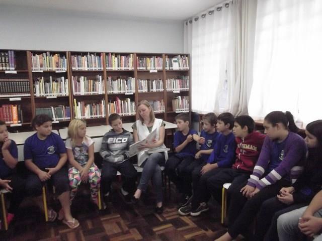 Ação Cultural de Leitura na Biblioteca