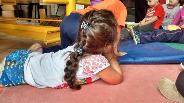 Crianças das turmas de Pré I visitam o Farol do Saber