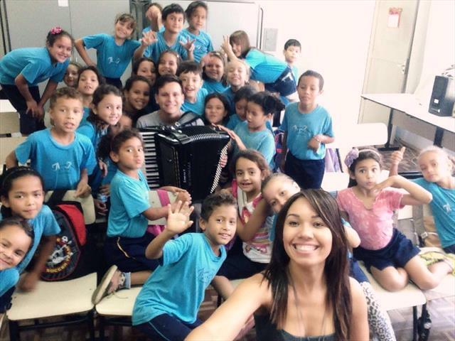 Músico na Escola
