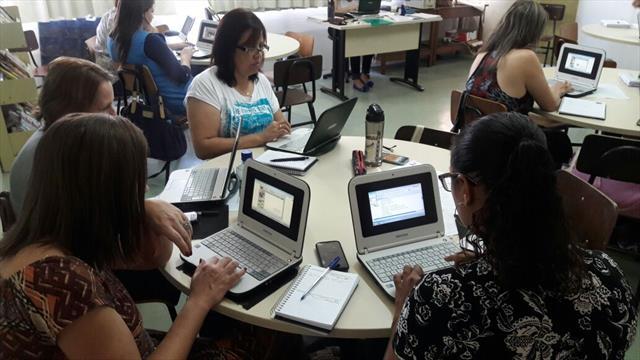 Programa de Formação Integrada (PROFI) integrando as tecnologias no encaminhamento pedagógico