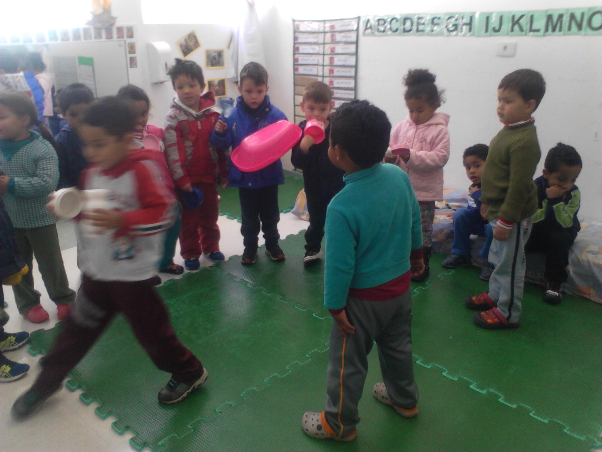 Brincando de capoeira