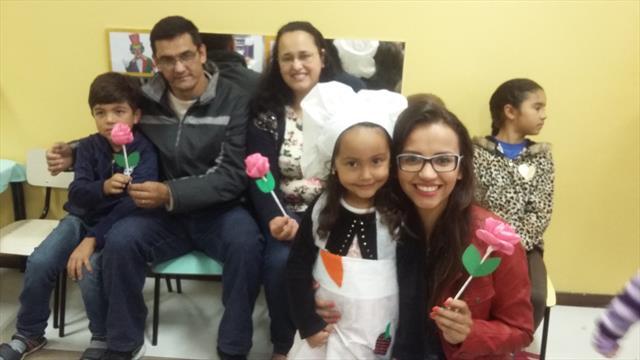 Segunda Integração com as Famílias no CMEI Mário Covas