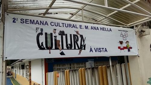 Semana cultural a vista