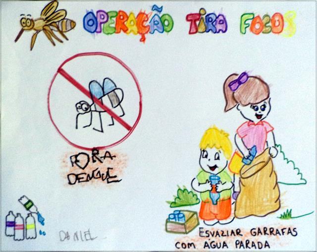 Reforço conta o Mosquito Aedes Aegypt