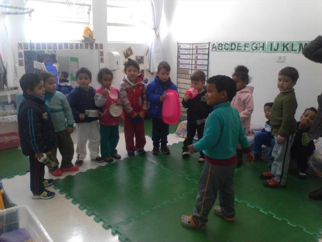 PRÉ I A - brincando e aprendendo a partir do interesse das crianças