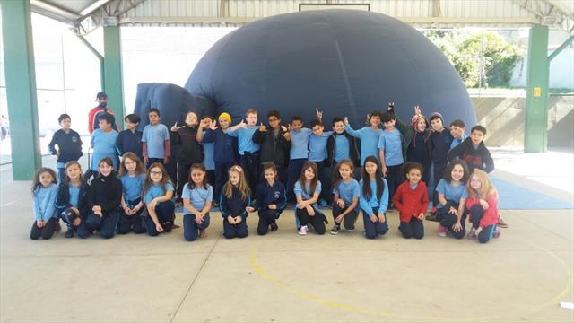 Planetário na escola