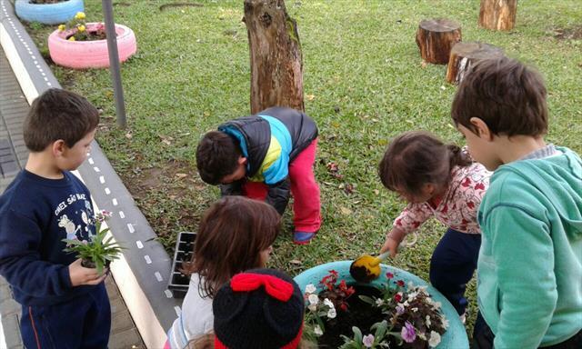 Revitalização crianças