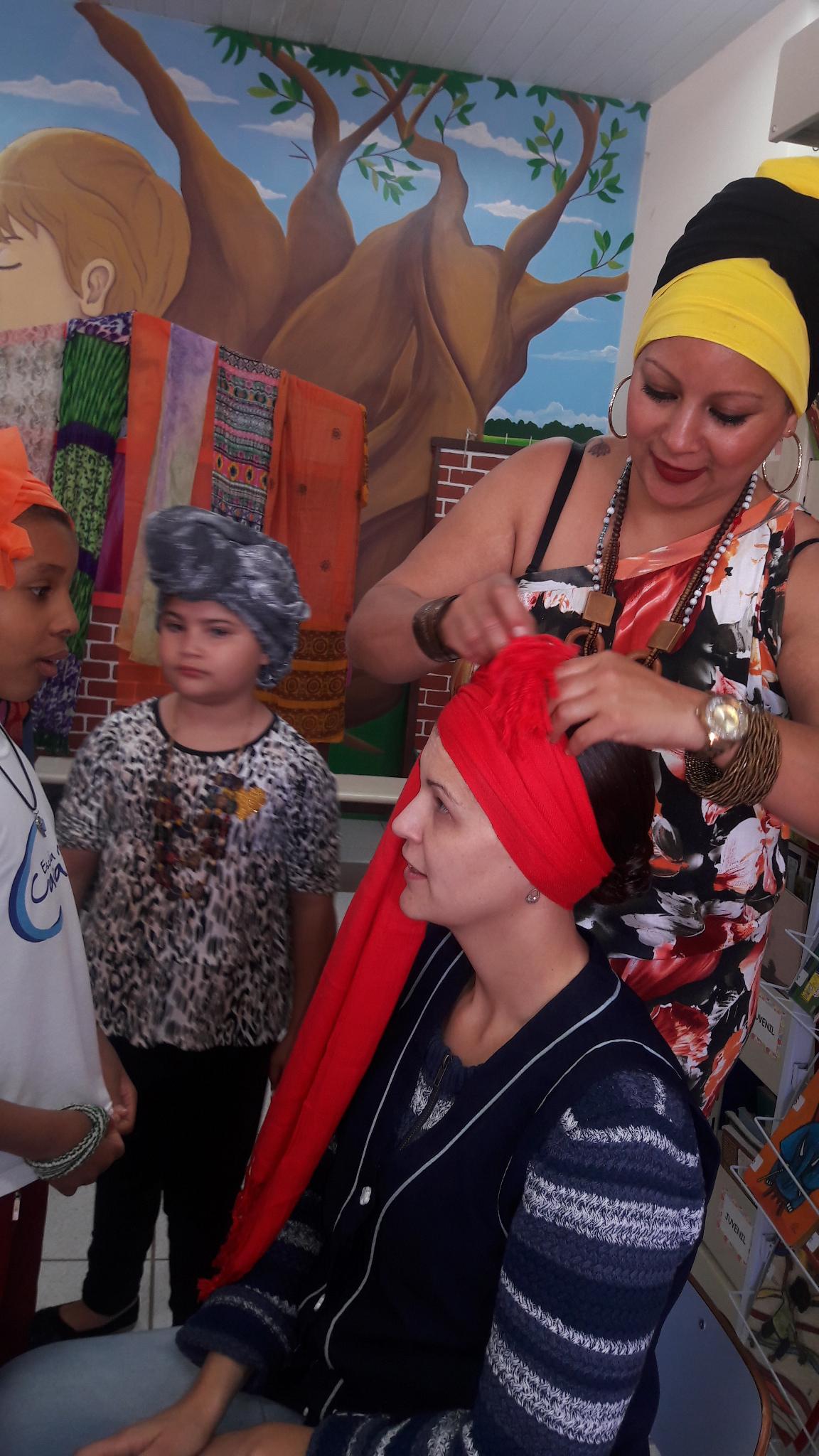 Produzindo um turbante