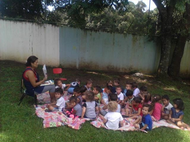A Literatura Infantil é utilizada nos CMEIs da SME