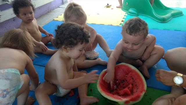 Tarde da melancia