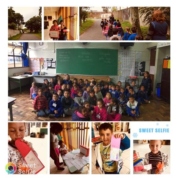 Visita na Escola