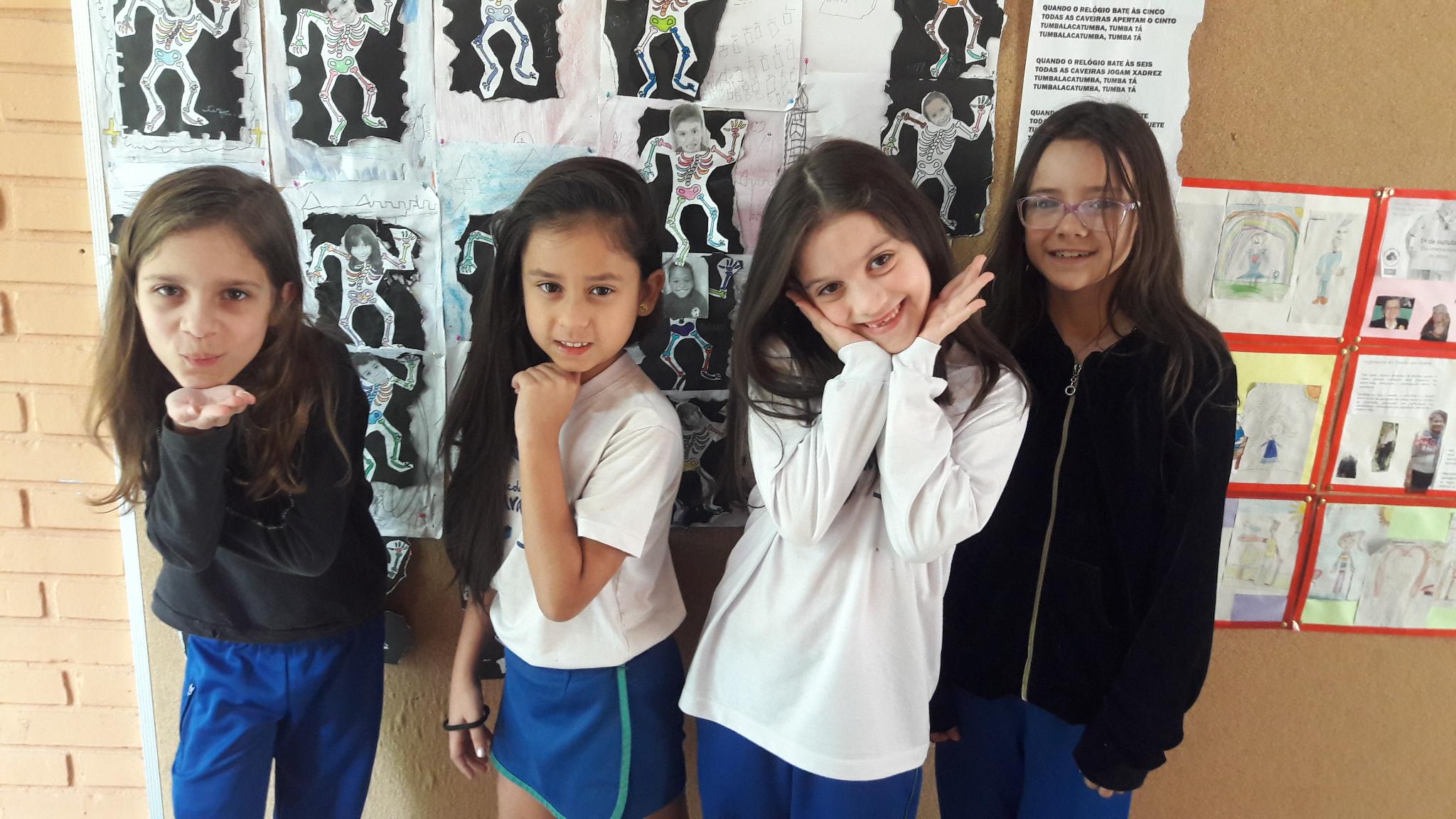 Estudantes terceiro C