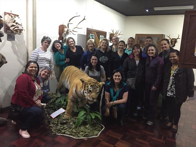 Reunião Administrativa NRE Matriz no Museu de História Natural.