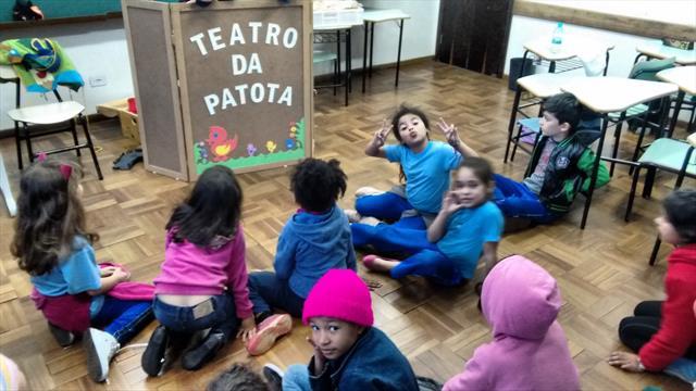 TEATRO DE FANTOCHES, FORMAÇÃO DE PLATEIA-ARTE-2ºANO D-PROFºSILVANA