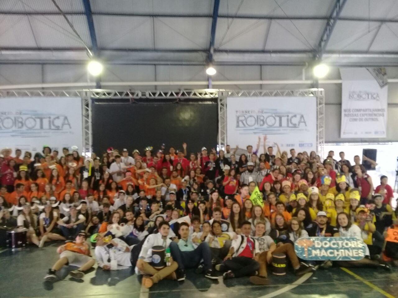 Fotos da etapa regional do FLL 2017-2018
