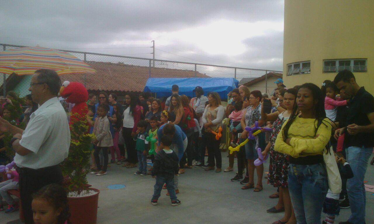 Inauguração Pracinha do Brincar