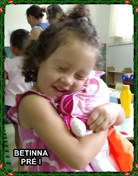 Muita emoção num sorriso de criança!