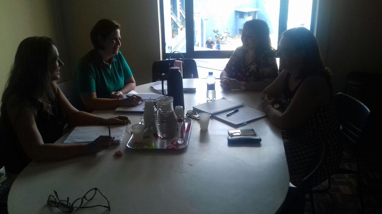 Reunião com as Articuladoras do Departamento Infantil e Fundamental