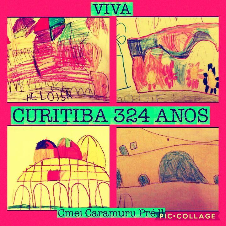 As crianças do PRÉ II realizaram lindos trabalhos em comemoração aos 324 anos de Curitiba. Agora nossas correspondências receberão selos especiais e únicos.