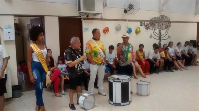 Escola Municipal de Educação Especial Ali Bark no Carnaval 2017