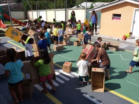 Cmei vila ipiranga - integração caixas - brincadei