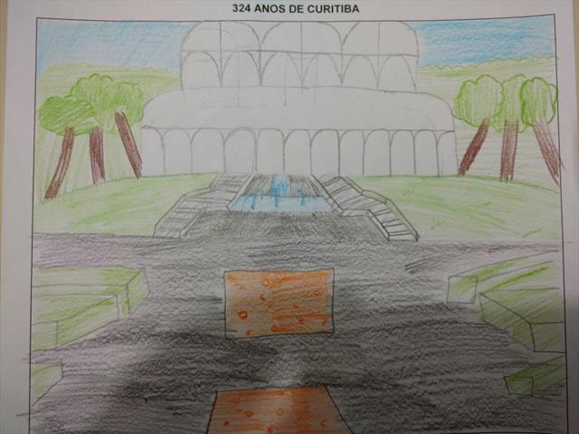 Concurso Desenhos e Frases 324 Anos Aniversario de Curitiba