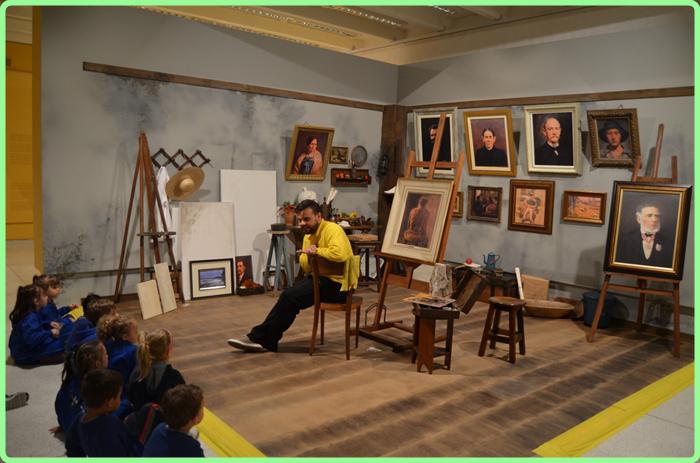 Turma do Pré II em visita ao Museu Oscar Niemayer