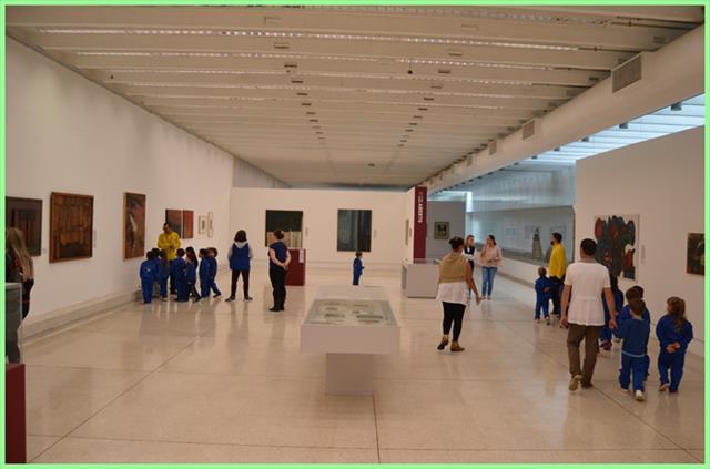 Turma do Pré II em visita ao Museu Oscar Niemeyer