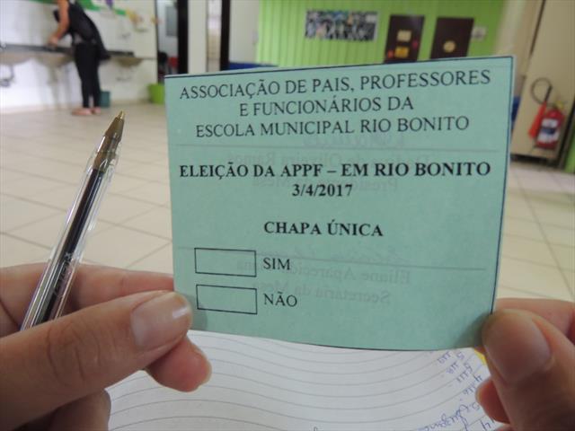Eleição da APPF