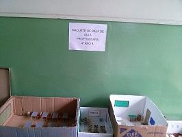maquetes sala de aula