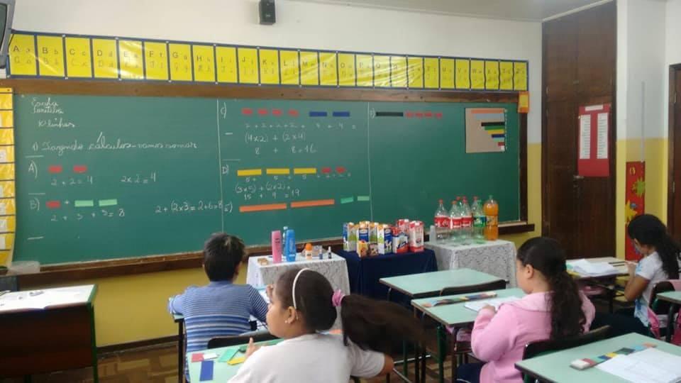 Quinzena da Matemática na Escola Municipal Madre Antônia