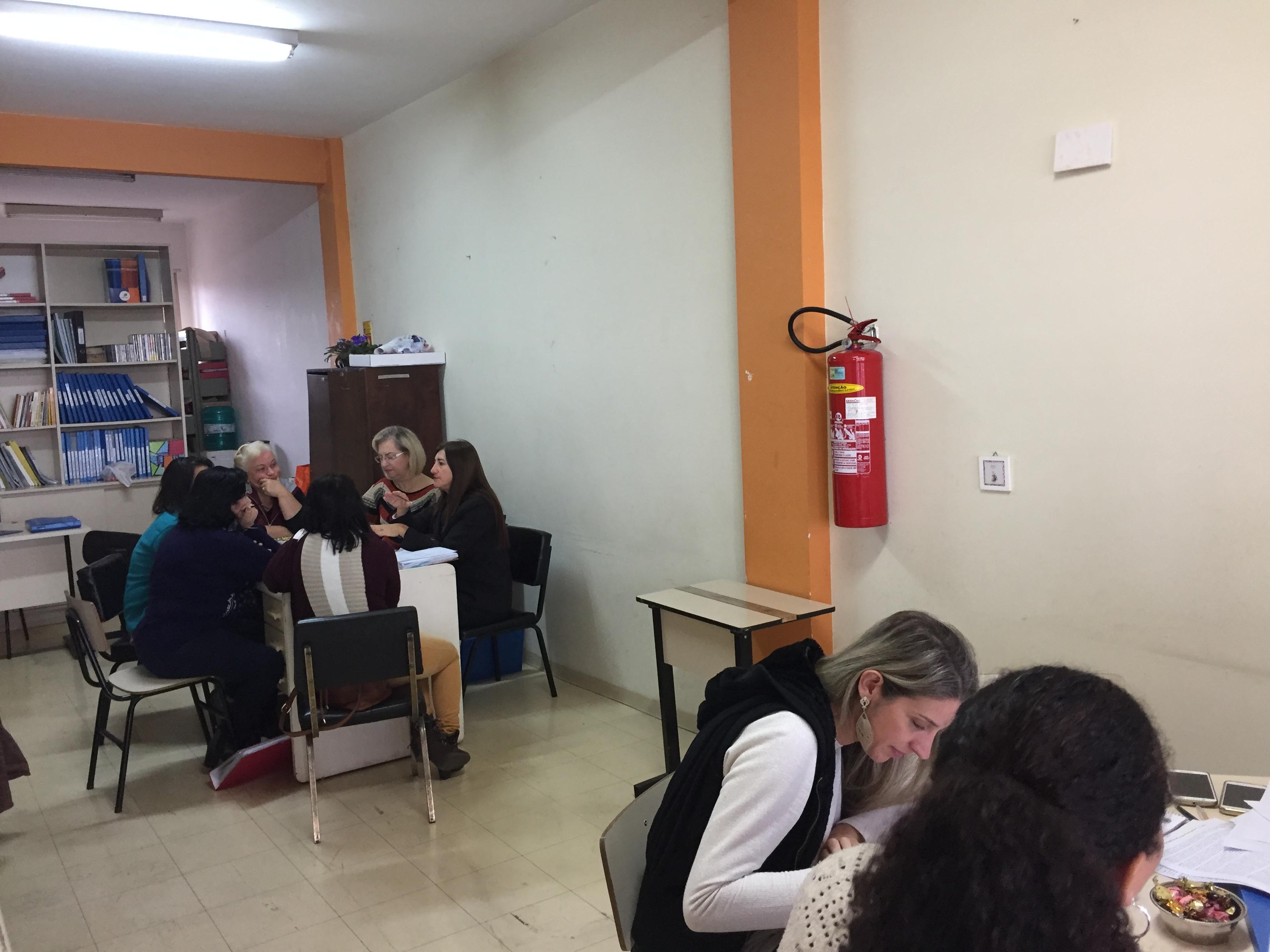 Reunião individual com as unidades