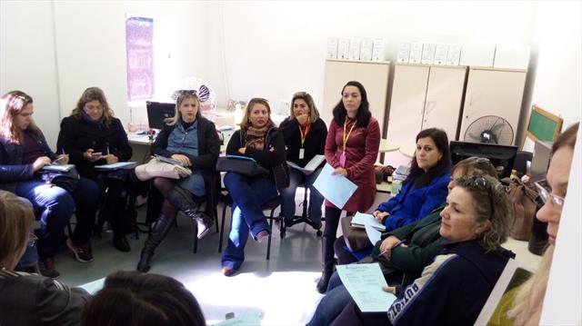Reunião Equipe Diretiva e Pedagógica