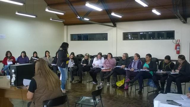 Reunião com diretoras CMEIS