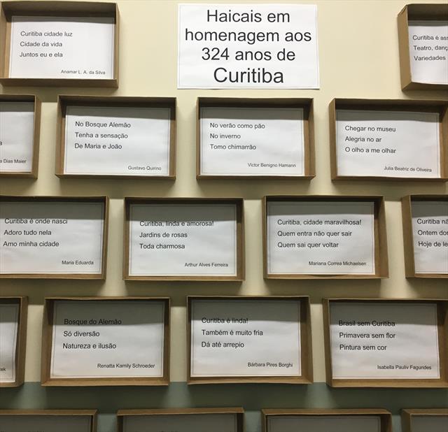 Aniversário de Curitiba 324 anos