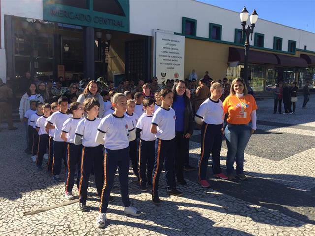 Estudantes Participam das Comemorações do Aniversário da Rua da Cidadania Matriz