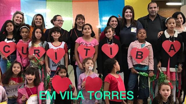 Escola Municipal Vila Torres Recebe o Programa Com