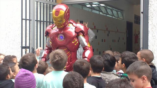 Super Heróis em Treinamento