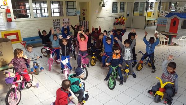 Semana Mundial do Brincar Dia da Bicicleta