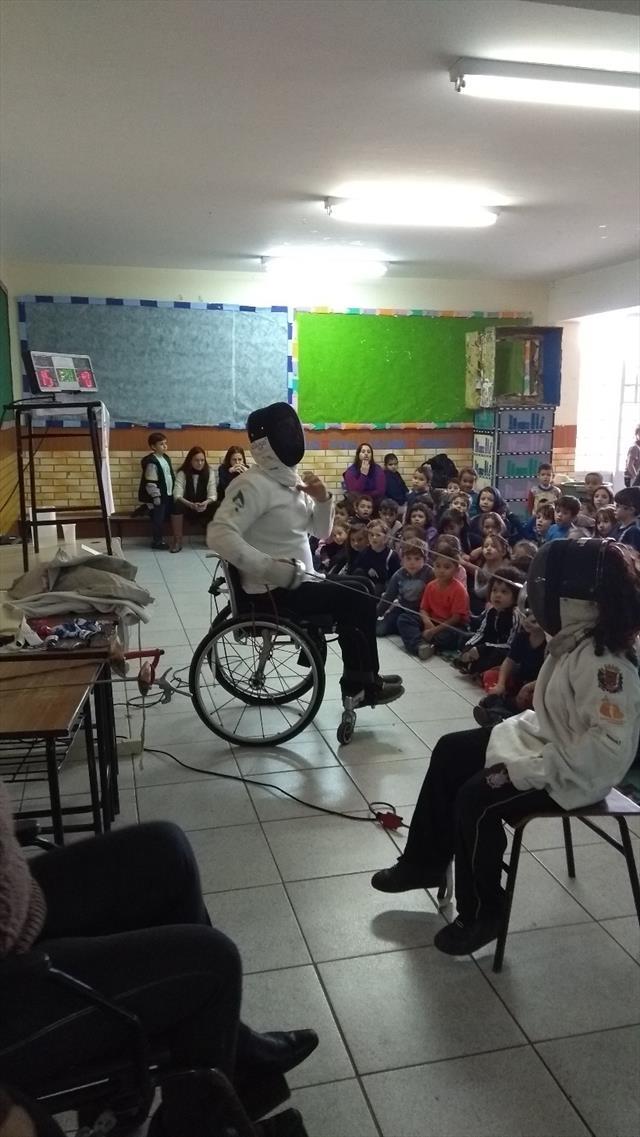 Palestra : O Esporte e a Superação - Sandro Colaço