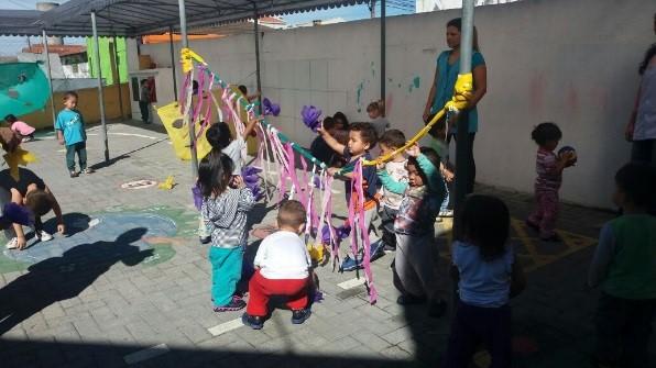 CMEI Campo Alto em comemoração à Semana Mundial do Brincar 2017