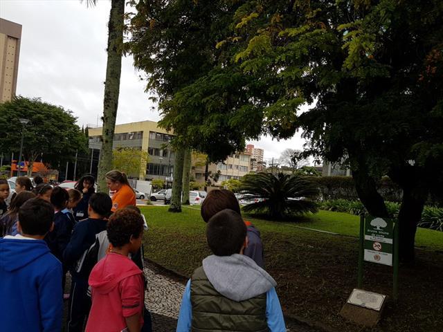 Visitando o Centro Cívico