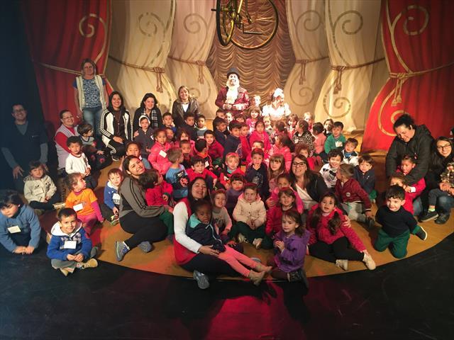 Linhas do Conhecimento e Educação Infantil, uma proposta lúdica cultural espetáculo Bicirqueiros